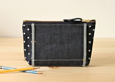 Image of Quarter Dot Pouch - No. 2 / Layer x Layer
