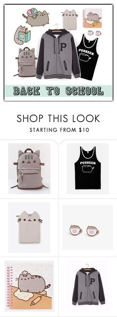 """""""#PVxPusheen"""" by patricia-dimmick ❤ liked on Polyvore featuring Pusheen"""