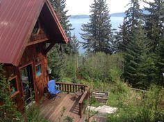 Cabin to rent overlooking the bay - Airbnb Kasitsna Bay, Seldovia, Alaska