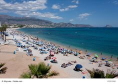 A Beach in Albir, Spain - Albir is a small gem between Altea and Benidorm with beautiful beach and even more beautiful views. It lies on Spain's White Coast (Costa Blanca) and along with other cities nearby makes a great destionation for your next Spanish adventure.