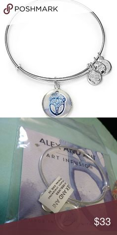 NWT Alex and Ani Art Infusion Unexpected Miracles Brand new bangle :) Thanks for looking! 💗 Alex and Ani Jewelry Bracelets