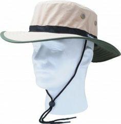 Principle Plastics 446TN Sun Hat, Tan & Green Nylon, One Size Fits All