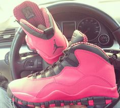 Air Jordan 10 Retro GS Fusion Red New Picture