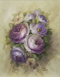 generation art supplies and instruction from our internationally honored instructors. Tole Painting, Painting & Drawing, Decoupage, Flower Pictures, Learn To Paint, Vintage Flowers, Clipart, Printable Art, Flower Art