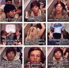 I love Louis so frickin much