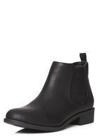 Womens Black 'May' chelsea boots- Black