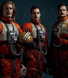 Rebel Pilots from Star Wars Rogue One