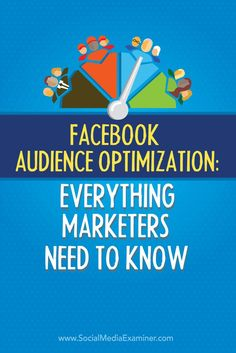 Do you have a Facebook page?  Facebook recently added a feature to let you specify the audiences most likely to engage with each Facebook page post, based on interests.  In this post Well show you how to use the new Facebook Audience Optimization feature
