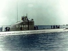 U-3008, one of the last types built in WWII, unfortunately too late for the Germans.