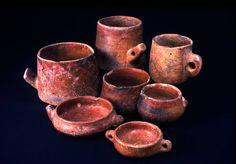 Piezas de la colección del Museo Canario
