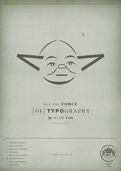 Yoda - Fet amb lletres, números i caràcters especials.
