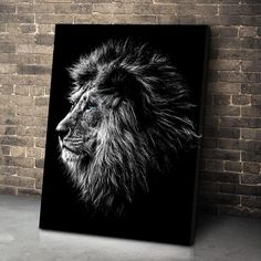 Blue Eyed Lion Canvas Set This magnificent blue eyed lion is the center of this canvas!Features : Printed in HD! Make your home or office look stunning! Unique and original Design! Love Canvas, Canvas Art Prints, Painting Canvas, King Painting, Lion Wall Art, Lion Poster, Lion Print, Unique Wall Art, Lion Of Judah