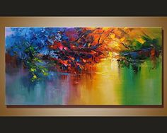 Contemporary Abstraction Oil Painting 100% Original Hand ... https://www.amazon.com/dp/B01N9P4P0I/ref=cm_sw_r_pi_dp_x_lkdKybEZV7KQM