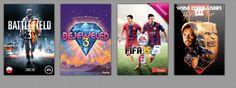FIFA 15 Battlefield 3 Konto Origin