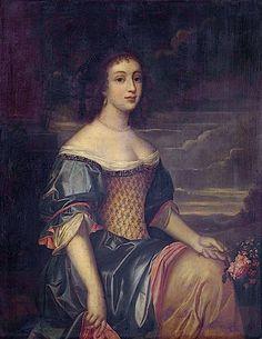 Marie de Rohan-Montbazon, duchesse de Chevreuse ab. 1660