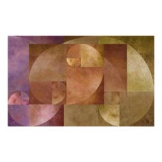 Golden Ratio, Fibonacci Spiral