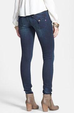 Vigoss 'New York' Flap Pocket Skinny Jeans (Ink) | Nordstrom