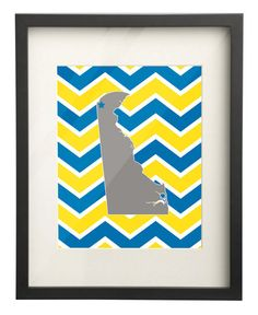 University of Delaware State Map 8x10 by PaperFrecklesCampus, $15.00 Use: PIN10 for 10% OFF!