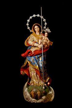 -Imaginero José María Leal-Inmaculada Franciscana. Orden Concepcionista Franciscana de Mairena del Aljarafe (Sevilla)    -