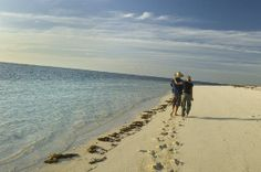 sand between your toes - ningaloo