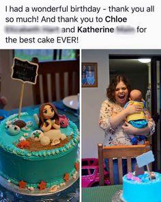 Mermaid cake - annabethbakes Best Cake Ever, Mermaid Cakes, Birthday Thank You, Cake Toppers, Photos, Cake Smash Pictures
