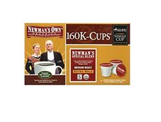 Newmans Own Organics Newmans Special Blend Caffeinated Coffee for Keurig Brewing Systems 160 Kcups ** Read more  at the image link.