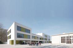 School extension in Antwerp / Areal Architecten