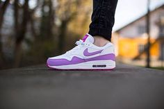 online store 0670e 3c302 Trendy Womens Sneakers 2017  2018   Nike Air Max 1 WMNS Essential-White-