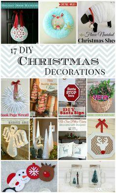 17 DIY Christmas Decorations