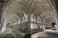 Cloistering at Gloucester Cathedral...  Cloisters by odin's_raven, via Flickr...  From...odin's raven...  http://www.flickr.com/photos/odins_raven/8099294181/in/photostream/