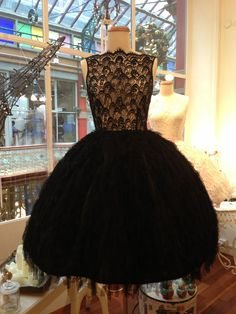 Image of Black Swan Ballerina Dress -  This is so beautiful, I want to WEEP.
