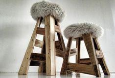 Möbel Paletten Gartenmöbel Europaletten Hocker Holz