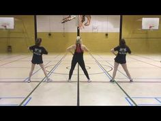 tryout dance to the back Cheer Dance Routines, Cheer Practice, Cheer Tryouts, Cheerleading, Surprise Dance, All Star Cheer, Dance Choreography, Coaching, Basketball Court