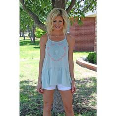 Mint To Be With You Tank - Tops