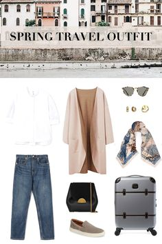 New travel paris outfit spring ideas Paris Spring Outfit, Paris Outfits, Travel Outfit Summer, Summer Outfits, Vacation Style, Vacation Outfits, Travel Style, Travel Outfits, Travel Fashion