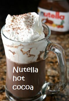 Nutella, not just for straight out of the container. 13 fun nutella recipes! AKA - things I should NOT eat!