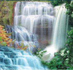 best  waterfalls picture | Best collection of Natural waterfall Wallpaper 2013 for Desktop PC and ...