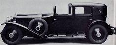 1929 Sports Sedanca de Ville by Barker (chassis 81XJ) for Mrs Ogde