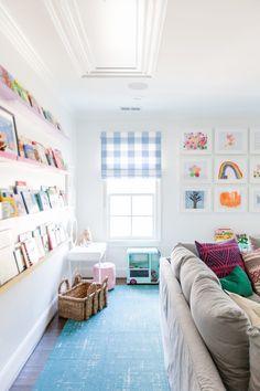 Boy Room: See 75 creative ideas and designs with photos - Home Fashion Trend Loft Playroom, Playroom Design, Playroom Decor, Playroom Ideas, Playroom Table, Baby Playroom, Playroom Storage, Living Room Playroom, Basement Ideas