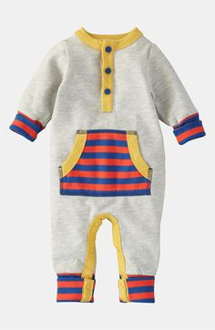Mini Boden 'Cozy' Romper (Infant) available at #Nordstrom