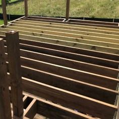 Fool-Proof Wall Framing Tips for New Construction (DIY) Deck Footings, Concrete Footings, Concrete Bench, Deck Stairs, Roof Deck, Under Deck Roofing, Under Deck Ceiling, Deck Posts, Under Decks