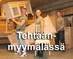 JUVI-Production - Huonekalut täyttä puuta
