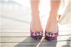 NJ & NY Wedding Photography Blog | Off BEET Photography | www.offbeetphotography.com #Wedding #Shoes #Purple #Lace