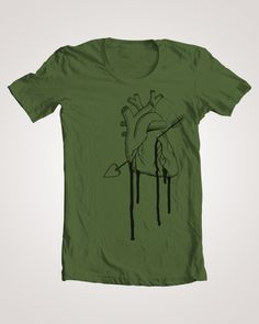 """Pierced by Cupid's Arrow"" t-shirt    Mahal ©"