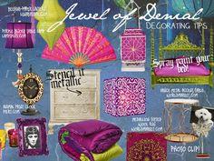 Jewel Of Denial - Decorating Tips  wakeupfrankie.com