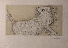 Les Etrangers 16 | by Leonor Fini Gravure, Book Illustration, Big Cats, Cat Art, Les Oeuvres, Modern Art, Moose Art, Museum, Graphic Design