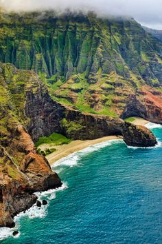 Na Pali Coast , Kauai, Hawaii. One of the most incredible places I have ever been.