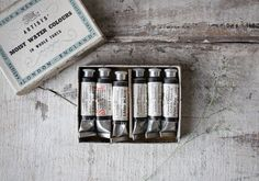 Vintage Artists' Moist Water Colours in Whole by jerseyicecreamco, $24.00