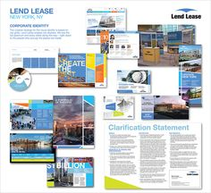 Corporate Identity, 1st Place, Lend Lease, New York, NY