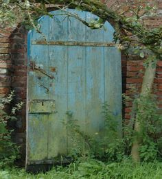This picture of a door in the walled garden at Drenagh in Limavaddy is so pretty i just like to look at it.